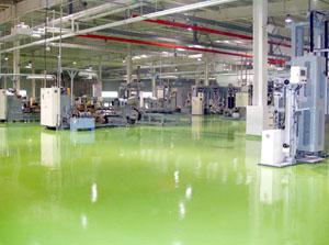 富士康厂区环氧耐磨地坪地面设计方案